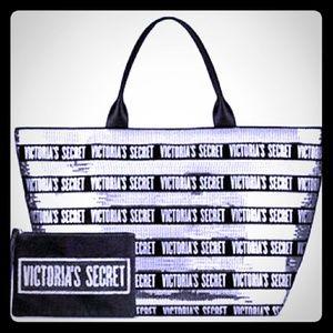 Victoria secret tote and wallet
